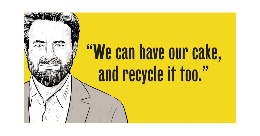 We can have our cake and recycle it too